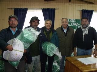 Entregan Redes a Pescadores De Queule