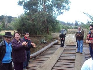 Inauguran Puente En Cholchol