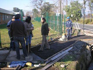 Municipio De Villarrica Mejora Acceso Para  Peatones En Segunda Faja