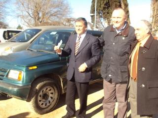 Municipalidad De Temuco Dona Vehículo a Municipio De Cholchol