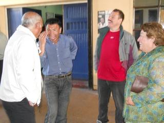 Alcaldesa De Cholchol Visitó a Internos De Cárcel De Imperial