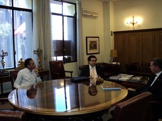 Senador Quintana y Alcalde De Traiguén Solicitan a Ministro De Justicia Que Se Concrete Escuela De Gendarmería
