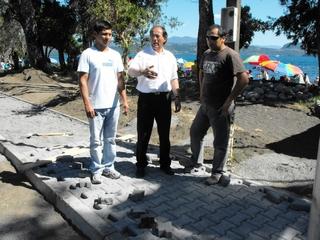 Avanzan Obras De Paseo Peatonal Ribereño En Playa Grande De Licán Ray