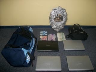 PDI Detiene a Banda Criminal Que Robo En Liceo De Trovolhue
