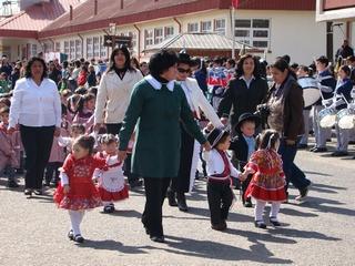 Con Gran Desfile Loncoche Celebró Aniversario 110
