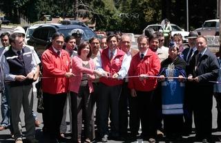 Ministro Golborne Inauguró El By Pass De Pucón