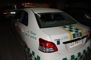 Apedrean Vehículo Municipal Durante Ronda Nocturna En Temuco