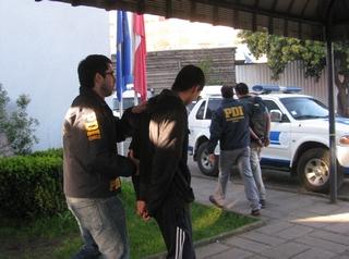 PDI Detuvo a Tres Adolescentes Por Violento Asalto a Cibercafé De Padre Las Casas