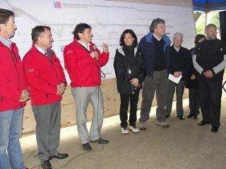 Ministro De Obras Públicas Laurence Golborne Dio El Vamos a Mega Proyecto Eje Bonilla De Angol