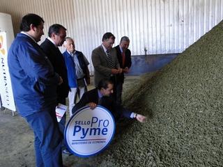 Reconocen a Primera Empresa Del País Con Proveedores Mapuches Que Logra Sello Propyme