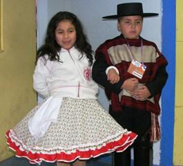Pareja De Villarrica Ganó Regional De Cueca Categoría Infantil En Padre Las Casas