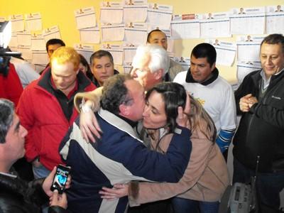 La Araucania:  Bachelet 80,34 % – Allamand 53,97 %.-