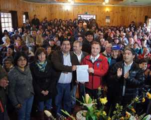 Intendente Firmó Proyecto De Agua Potable Rural Más Grande De Chile Para Teodoro Schmidt e Imperial
