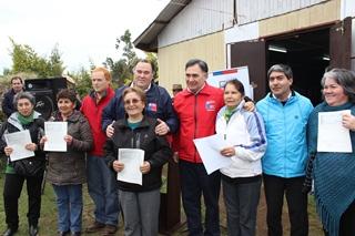 Indap Entregó Incentivos Por 50 Millones Para Potenciar Agricultura En Freire