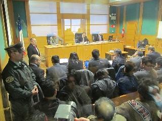 Hoy Se Realizó La Lectura De Sentencia Absolutoria De 12 Mapuches Por Ataque a Un Tur Bus