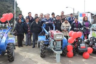 Agricultores De Freire Reciben De Indap 71 Millones De Pesos Para Mejorar Producción