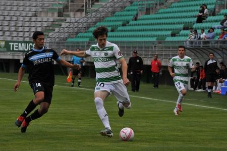 Deportes Temuco Gano, Goleo, Gusto Ante Magallanes.