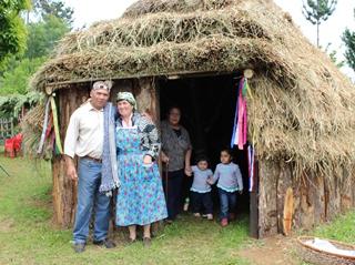 Inauguran Ruka Turística En Sector Botacura De Pitrufquén