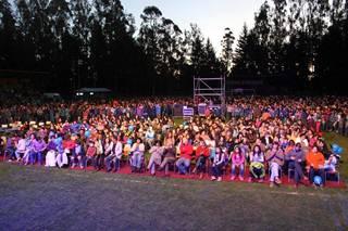 Con Multitudinario Show Pitrufquén Celebra Su 115º Aniversario