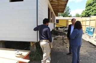 Dos Escuelas Municipales De Villarrica Modernizan Sus Infraestructuras