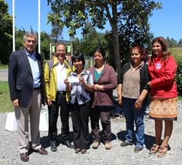Comunidad Mapuche De Villarrica Recibió Fondos Para Construir Sede Comunitaria Tipo Ruka
