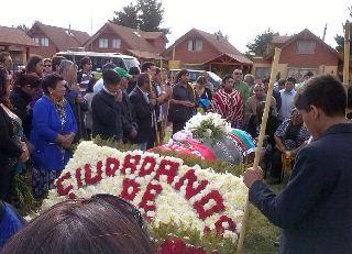 En Angol Fue Sepultado Ex Gobernador De Malleco Rubén Quilapi