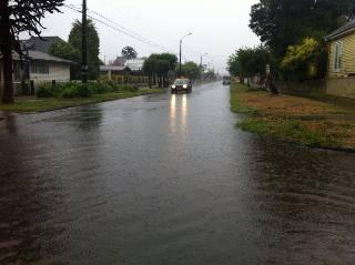 67 Milímetros De Agua Caída Dejó Lluvia Veraniega En Temuco