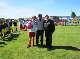 Hoy Se Inició Primer Mundialito Infantil De Fútbol En Toltén
