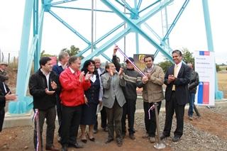 Inauguran Nuevo Sistema De Agua Potable Rural Agua Santa En Lautaro