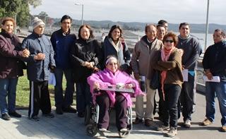 En Villarrica Implementarán Parque Vida Sana De Acceso Universal Para Personas Discapacitadas