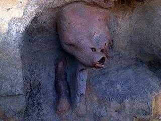 Descubren Extraña Figura En Playa De Porma En Teodoro Schmidt