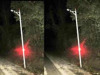 En Villarrica Instalan Postes Con Iluminación Solar y Paneles Led