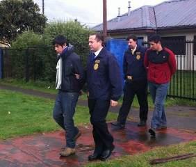 PDI De Pitrufquén Detuvo a Dos Jóvenes Por El Robo a Municipio De Gorbea