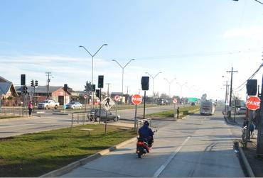 Llaman A Transitar  En Avenida Recabarren Con Prudencia Para Evitar Nuevos Accidentes
