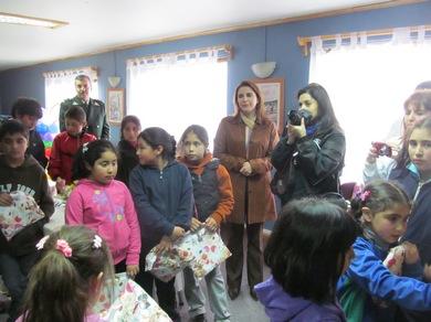 Niños De Lautaro Disfrutaron De Un Espectáculo Canino  Gracias A Gendarmería De Chile