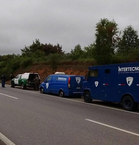 En Gorbea Intentan Robar Camión De Trasporte De Valores