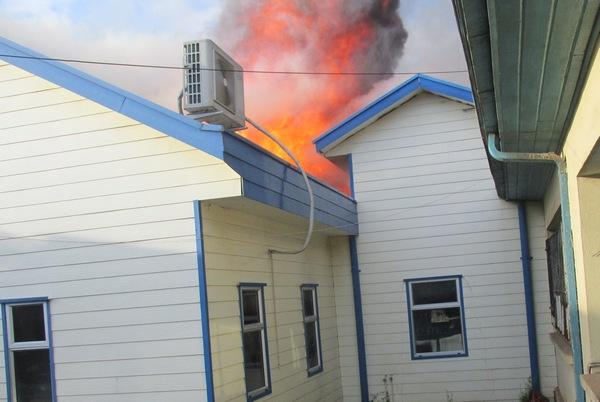 Incendio Destruyó Parcialmente Al Hospital De Collipulli