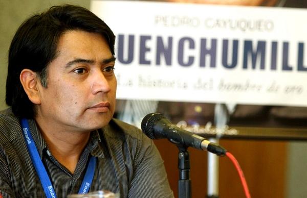 "Escritor Pedro Cayuqueo ""Andrés  Jouannet Un Personaje De Menor Nivel"""