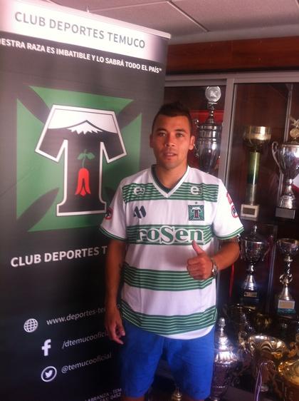 Javier Bustos Se Incorporó A Club Deportes Temuco