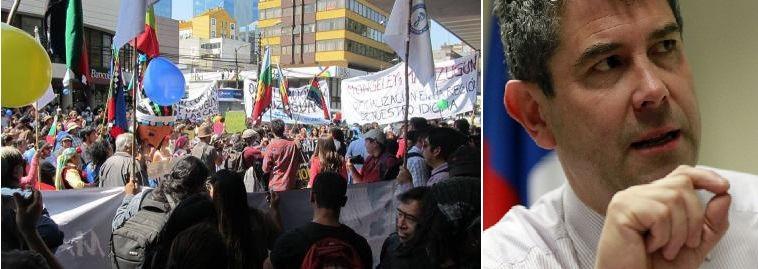 "Preparan  manifestación contra  Intendente ""Pewkayall Jouannet"""