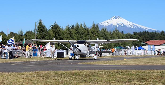 En Villarrica Se Desarrollará Festival Aéreo Internacional
