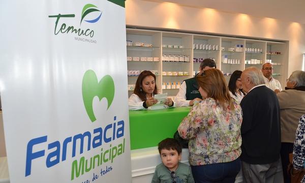 En Temuco Ya Funciona  Farmacia Municipal