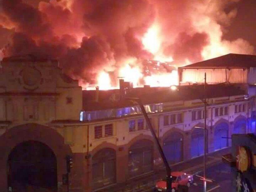 Incendio Destruye Mercado Municipal