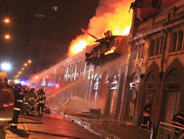 El Fuego Consumió El Mercado Municipal