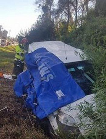 1 Fallecido Dejó  Trágico  Accidente De Tránsito En Gorbea