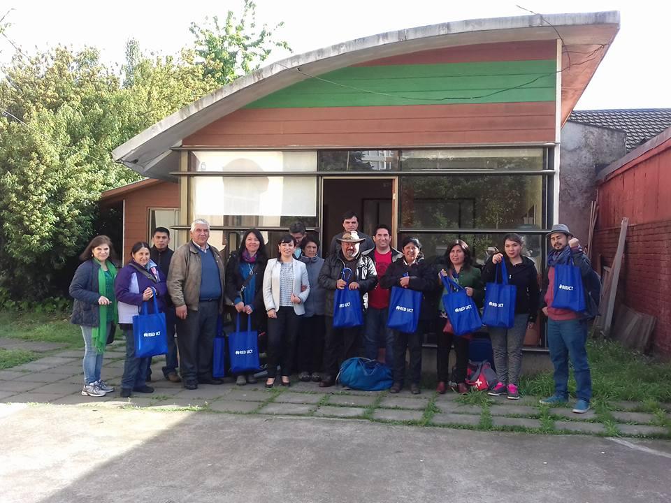 Emprendedores Mapuche Realizaron Gira Técnica Hasta La Provincia De Arauco