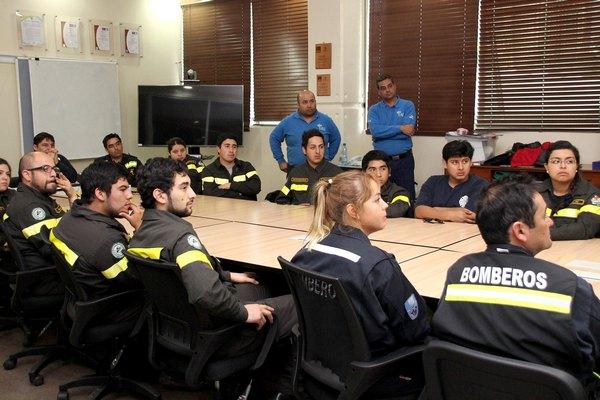 Bomberos Se Certificaron Como Operadores Con Sustancias Peligrosas
