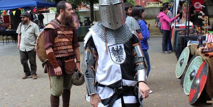 Este 2017 Se Repite Exitosa Feria Medieval Histórica En Temuco