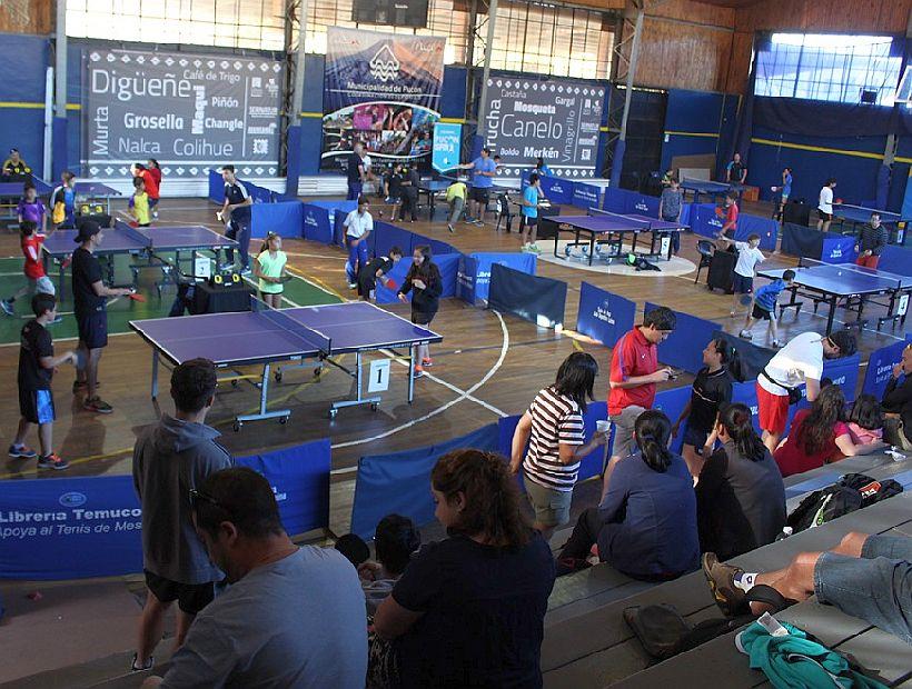 En Pucón Se Disputa El Open Nacional De Tenis De Mesa 2017