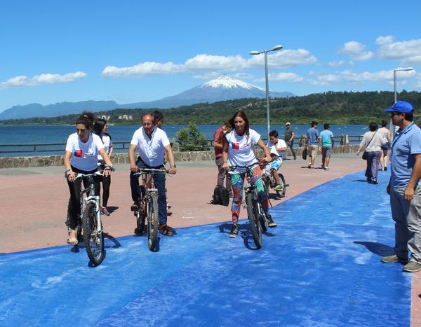 Villarrica Implementa La 2da Etapa De Ciclovías